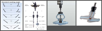 On-Site Special Tools for Grinding Conical Valve Seats